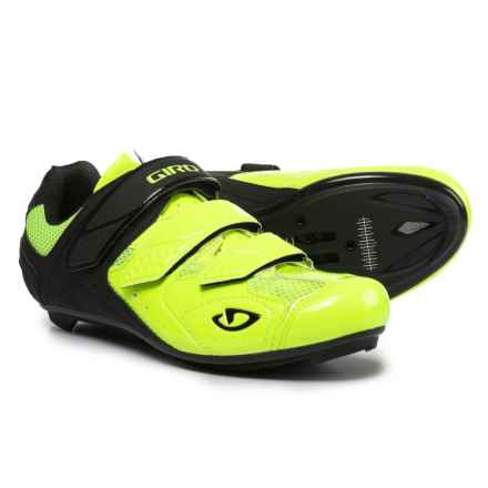Giro Treble II Road Cycling Shoes - SPD, 3-Hole (For Men) in Highlight Yellow/Matte Black - Closeouts