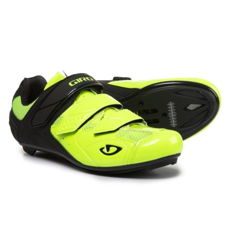 Giro Treble II Road Cycling Shoes - SPD, 3-Hole (For Men) in Highlight Yellow/Matte Black