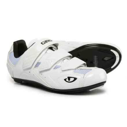 Giro Treble II Road Cycling Shoes - SPD, 3-Hole (For Men) in White - Closeouts
