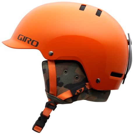 Giro Vault Snowsport Helmet (For Kids and Youth) in Orange Camo