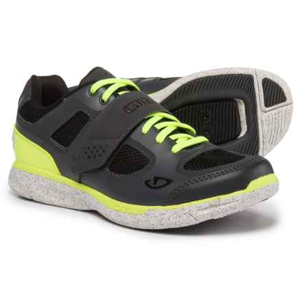 Giro Whynd Mountain Bike Shoes - SPD (For Women) in Dark Shadow/Highlight Yellow - Closeouts
