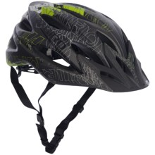 Giro Xar Mountain Bike Helmet (For Men and Women) in Matte Green/Black Blockade - Closeouts