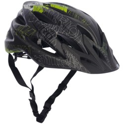 Giro Xar Mountain Bike Helmet (For Men and Women) in Matte Green/Black Blockade