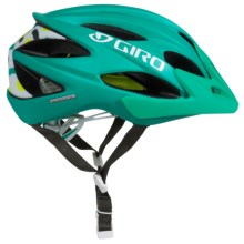 Giro Xara Bike Helmet (For Women) in Matte Turquoise Big Squiggle - Closeouts