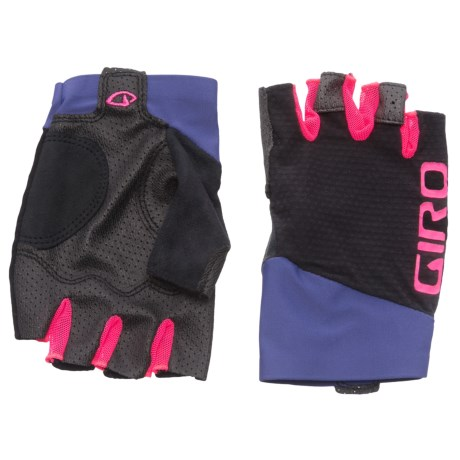 Giro Zero CS Fingerless Cycling Gloves (For Men) in Ultraviolet/Bright Pink