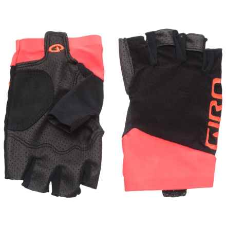 Giro Zero CS Fingerless Cycling Gloves (For Men) in Vermillion - Closeouts