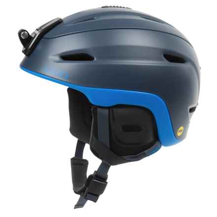 Giro Zone MIPS Ski Helmet in Matte Turbulence/Blue - Closeouts
