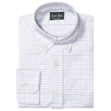 Gitman Brothers Dress Shirt - Button-Down Collar, Long Sleeve (For Boys) in White W/Red/Light Blue Check - Closeouts