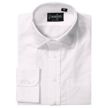 Gitman Brothers Dress Shirt - Spread Collar, Long Sleeve (For Boys) in White - Closeouts
