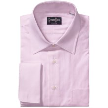 Gitman Brothers French Cuff Dress Shirt - Long Sleeve (For Men) in Light Tonal Stripe - Closeouts