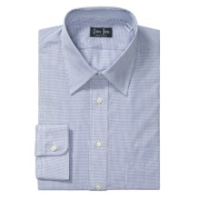 Gitman Brothers Grid Check Dress Shirt - Cotton, Long Sleeve (For Tall Men) in Multi Check - Closeouts
