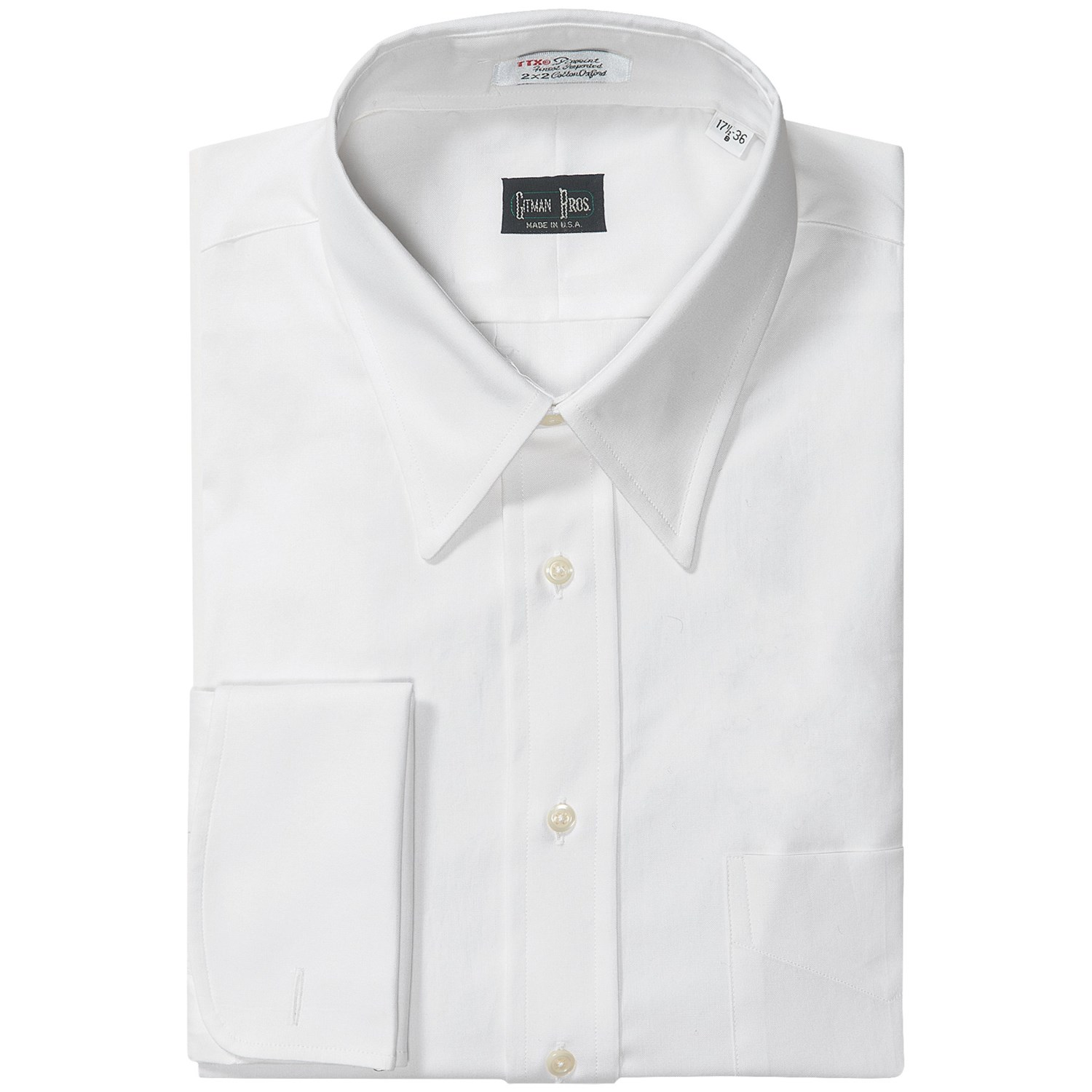 French Cuff Dress Shirts For Men Nymsuitscom Tattoo