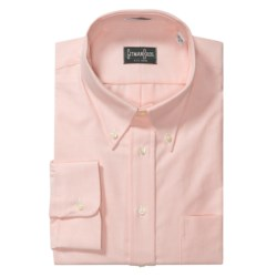 Gitman Brothers Solid Oxford Dress Shirt - Long Sleeve (For Big Men) in Pink