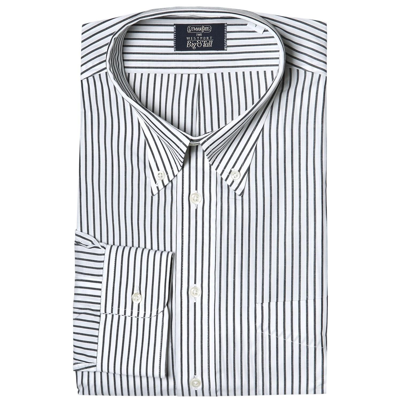 Striped dress shirts big tall