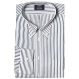 Gitman Brothers Stripe Button-Down Dress Shirt - Long Sleeve (For Big and Tall Men)