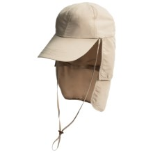Glacier Glove Black Rock Hat - UPF 50+ (For Men and Women) in Khaki - Closeouts
