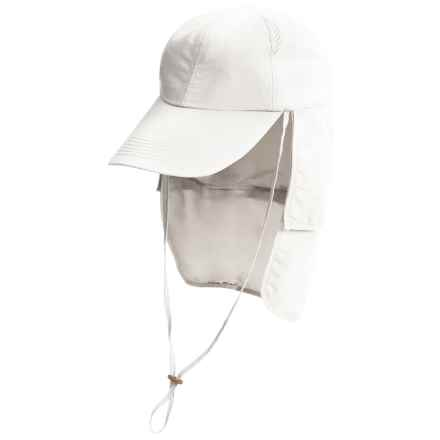 Glacier Glove Black Rock Hat - UPF 50+ (For Men and Women) in White - Closeouts