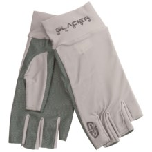 Glacier Glove Dr. Shade Ascension Bay Sun Gloves - Fingerless, UPF 50+ (For Men and Women) in Grey - Closeouts
