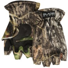 Glacier Glove Fleece Gloves - Fingerless (For Men and Women) in Camo - Closeouts