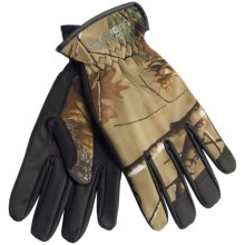 Glacier Glove Lightweight Hunter Gloves - Full Finger (For Men and Women) in Realtree Ap - Closeouts