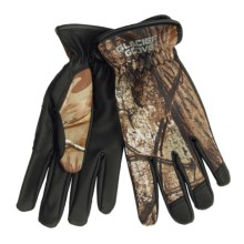 Glacier Glove Lightweight Hunter Gloves - Full Finger (For Men and Women) in Realtree Xtra - Closeouts