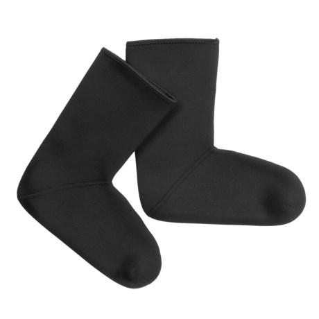 Glacier Glove Neoprene Fleece Lined Socks (for Men and Women) in Black