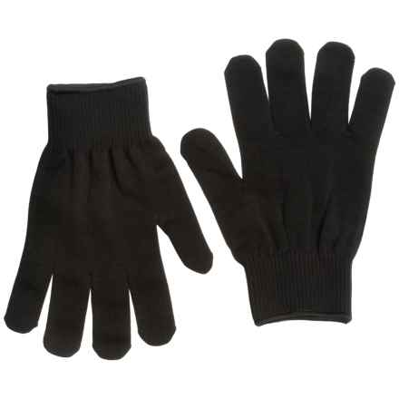 Glacier Glove Polypro Liner Gloves in Black - Closeouts