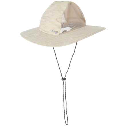 Glacier Glove Sand Harbor Sun Hat - UPF 50+ (For Men and Women) in Khaki - Closeouts