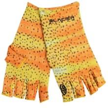 Glacier Glove Val Atkinson Trout Sun Gloves - UPF 50+ in Rainbow Trout - Closeouts
