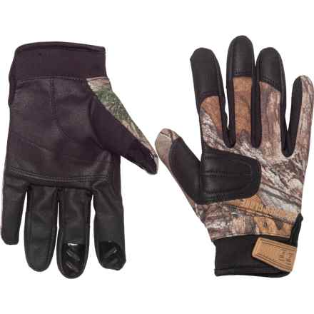 Glacier Gloves Lightweight Field Gloves (For Men and Women) in Realtree Xtra - Closeouts