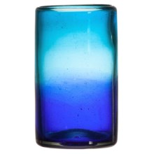 Global Amici Cardiff Hiball Glass in Blue - Closeouts