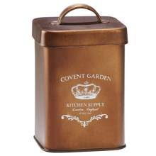 Global Amici Covent Garden Canister - Small in Copper - Closeouts