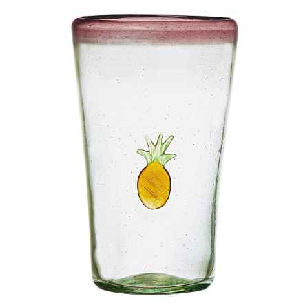 Global Amici Fresco Pineapple Highball Glass - 16 fl.oz. in Violet - Closeouts