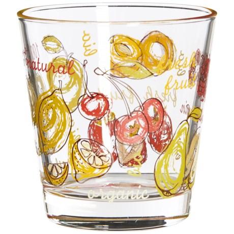 Global Amici Fresh Fruit Glasses - 12 fl.oz., Set of 6 in Multi