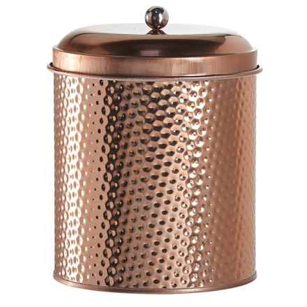 Global Amici Mauritius Round Canister - Extra Large in Copper - Closeouts