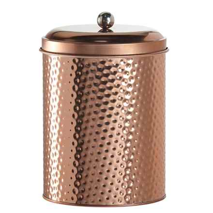 Global Amici Mauritius Round Canister - Large in Copper - Closeouts