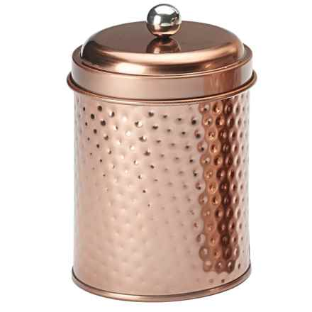 Global Amici Mauritius Round Canister - Small in Copper - Closeouts