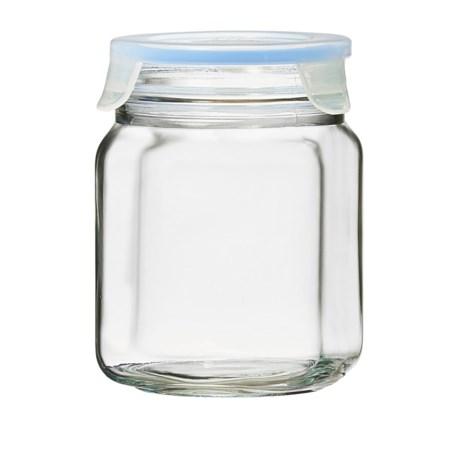 Global Amici Superblock Storage Jar - 34 oz. in Clear
