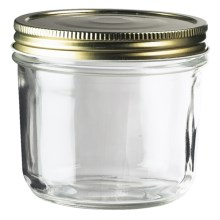 Global Amici Wide Mouth Preserving Jar in Clear - Closeouts
