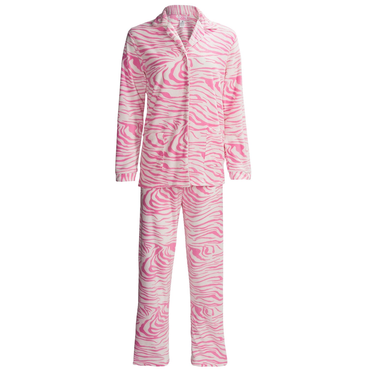 Women's Fleece Pajamas. Showing 40 of results that match your query. Search Product Result. Product - Womens Medium Fleece Lounge Pajama Bottoms Camo with Neon Pink Waist Band. Product Image. Price $ Product Title. Womens Medium Fleece Lounge Pajama Bottoms Camo with Neon Pink Waist Band.