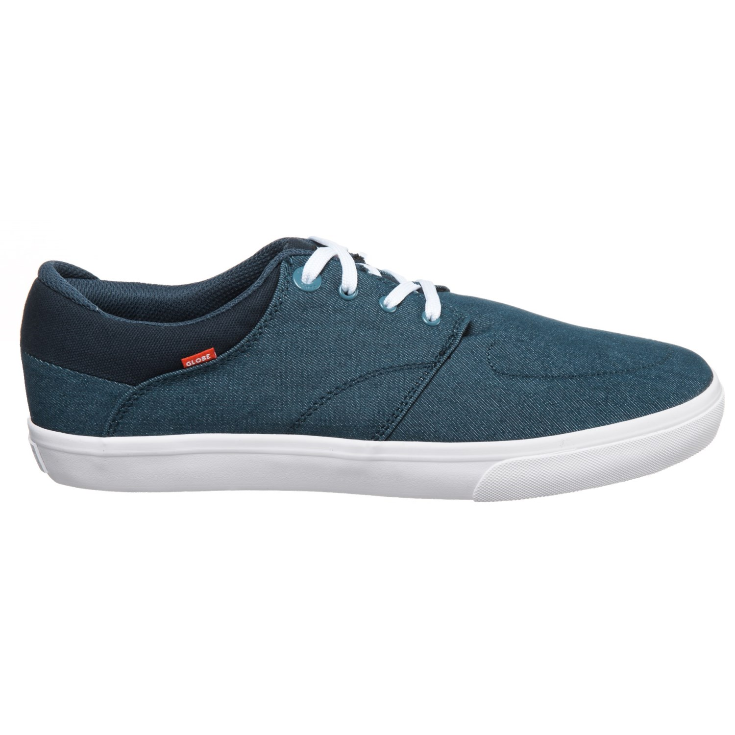 Chase Suede Shoe Blue Twill Globe 12eEHCjQ3D