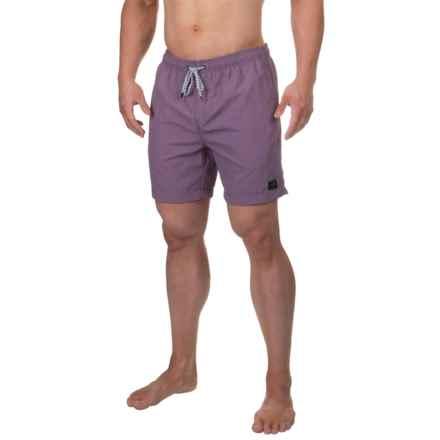 Globe Dana V Swim Trunks - Built-In Briefs (For Men) in Dusty Eggplant - Closeouts