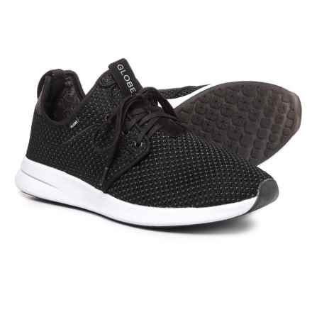Globe Dart Lyt Sneakers - Slip-Ons (For Men) in Black Mesh - Closeouts