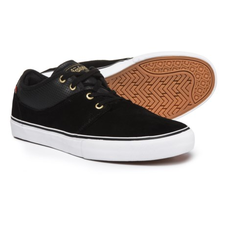 Globe Mahalo Sneakers -Suede (For Men) in Black/Gold