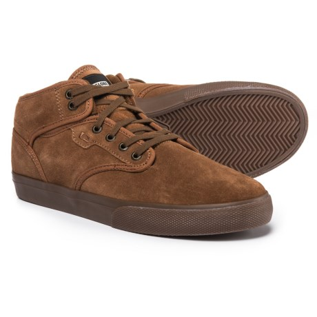 Globe Motley Mid Sneakers (For Men) in Brown/Tobacco