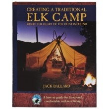 Globe Pequot Press Creating a Traditional Elk Camp Book in See Photo - Closeouts