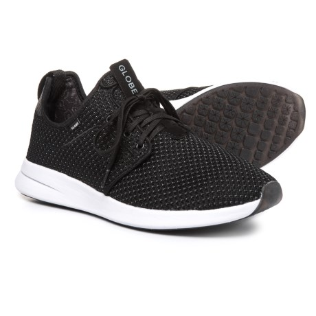 Globe Shoes Dart Lyt Sneakers - Slip-Ons (For Men) in Black Mesh