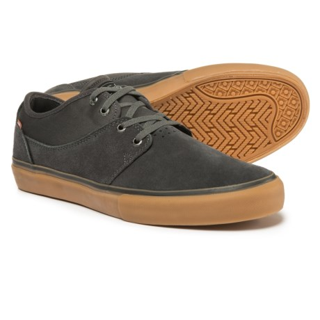 Globe Shoes Mahalo Sneakers -Suede (For Men) in Charcoal/Gum