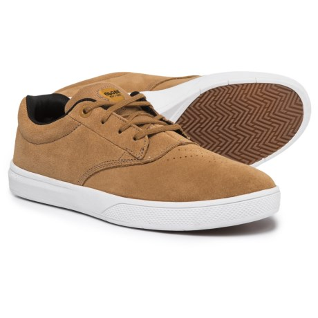 Globe Shoes The Eagle SG Sneakers - Suede (For Men) in Tobacco