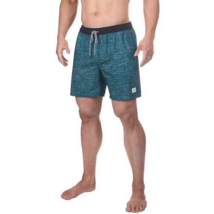 Globe Spencer Swim Trunks (For Men) in Yale Blue - Closeouts